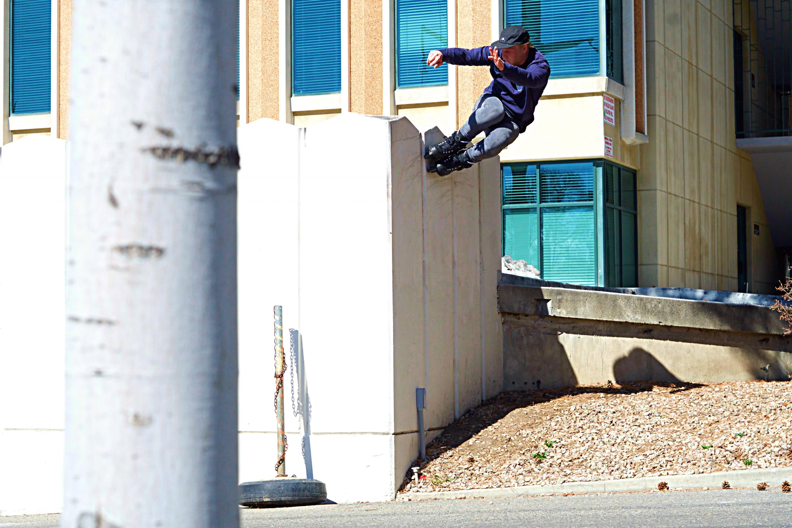 Hazen Bell Wallride Photo by Kirill Braynin
