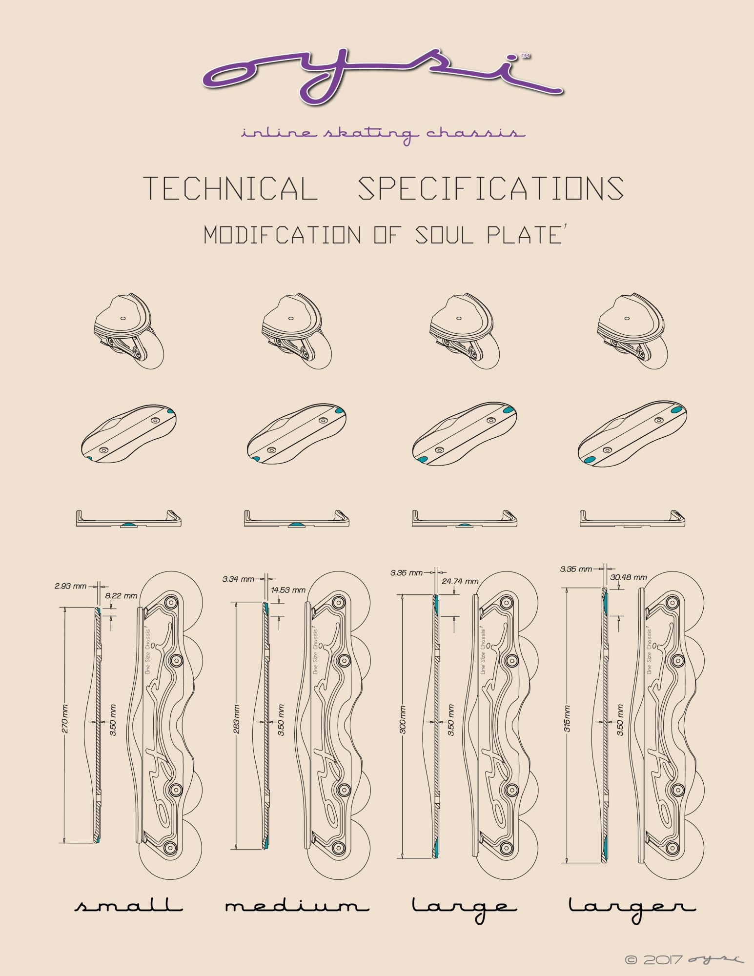 Oysi Technical Specifications Soul Plate Modification